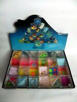 Vintage Mini jeu de billes année 90 boite 24 casse tête Mini GEDULDS SPIEL neuf!