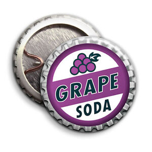Grape Soda - Button Badge - 25mm 1 inch  - Up! Disney Parody