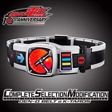 Kamen Rider COMPLETE SELECTION MODIFICATION DEN-O BELT & K-TAROS BANDAI JAPAN