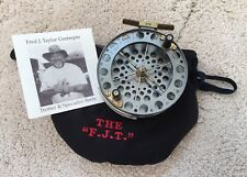 """NEW FRED TAYLOR TROTTING CENTREPIN REEL by GARRY MILLS MILL TACKLE CO 4.5"""" No.14"""
