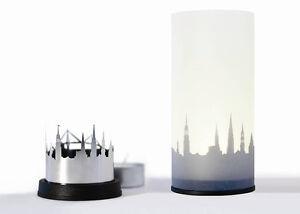 Dekoop Designer City Light - Tea Light Holder - Berlin or Venice