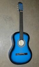 Black and Blue child's Acoustic Guitar  *BW2-1