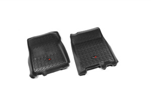 OMIX-ADA Rugged Ridge All Terrain Floor Liner Front Black For 97-03 Ford F-150