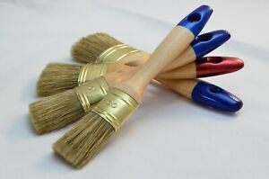 60 to 30 OVAL OREL - Paint Brush Set of Four. Fine OREL and Natural Bristle Mix.