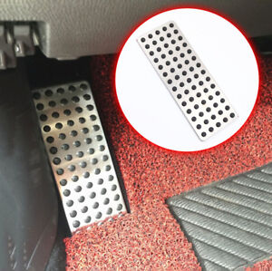 Foot Rest Footrest Pedal Plate Cover For Mazda 2 3 6 CX3 CX4 CX5 CX9 Accessories