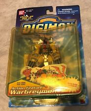 Digimon Digital Monsters Action Feature WarGreymon w/ Action Arms NEW Sealed