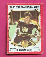 1973-74 OPC  # 30 BRUINS BOBBY  ORR ALL STARS GOOD CARD (INV# D7820)