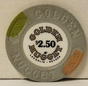 $2.50 Golden Nugget Casino Chip Laughlin Nevada $3.85 flat s&h