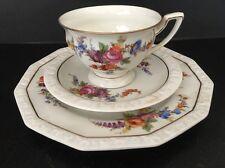 Vintage Hand Painted  Rosenthal Maria Porcelain 3 Pieces Set