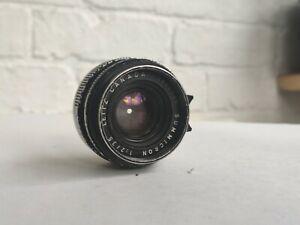 Leica 35mm f2 Summicron v3 M mount lens Leitz version 3