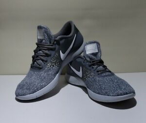 Nike Mens Flex Contact 908983-011 Cool Gray Running Shoes Lace Up Size 13
