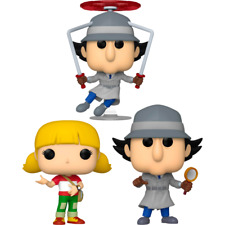 3 Set Inspector Gadget - Inspector Gadget Flying Penny Glass Pop! Vinyl Figure