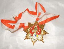 Karnevalsorden Stern mit Prinz Rot Weiss Blau Gelb