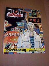 """""""PILOTE & CHARLIE, no 8"""" (1986) LA B.D. EN FUSION"""