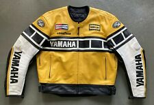 YAMAHA 50TH ANNIVERSARY LEATHER JACKET. KENNY ROBERTS. NEW - VINTAGE - COLLECTOR