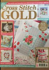Cross Stitch Gold Fantasy Kits Cat Canvas Patchwork March 2015 FREE SHIPPING!