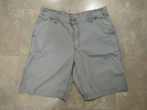 GUC men's CARHARTT gray shorts RELAXED FIT - size 36