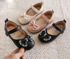 Fashion Toddler Baby Kids Girls Princess Casual Bow Dress Single Shoes Sandals