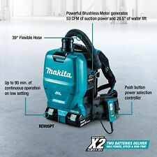 Makita XCV05PT 18V X2 LXT 36V Brushless Backpack Dust Extractor Vacuum Kit New
