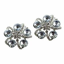 """Jewelled Shoe Clips, Shoe Jewels, Bridal Prom Shoe Accessories (1 Pair) """"Lizzy"""""""