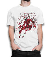 Carnage Symbiote T-Shirt, Men's All Sizes