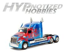 JADA 1:24 TRANSFORMERS OPTIMUS PRIME WESTERN STAR 5700 XE DIE-CAST  98527 N/B