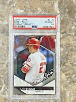 2018 Topps Instant Impact Mike Trout #II-5 PSA 10 GEM MINT Los Angeles Angels