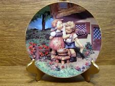 "M.J. Hummel Plate - Little Champions Collection - ""Squeaky Clean"""