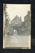 c1920s Photo: Shop Fronts, People & Jaspers Gatehouse Rochester