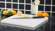 Zanussi Professional Large High Density White Chopping Board Cutting Board
