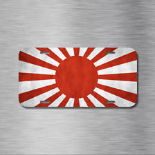 Japanese Rising Sun Flag Vehicle License Plate Front Auto Japan Import JDM NEW!