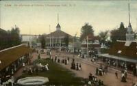 Chautauqua Lake NY Celoron Amusement Park c1910 Postcard