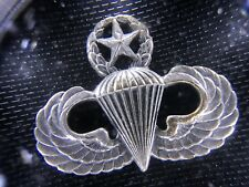 US Army Airforce Master Parachutist Jump Wings Badge Original