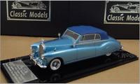1/43 Rolls Royce Phantom IV Cabriolet 1951 Chassis 4AF6 Blue/Blue (Close)
