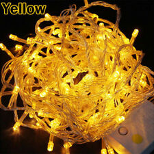 Yellow 10M 100LED SMD String Fairy Light Christmas Outdoor Lamp 110V US Plug Hot