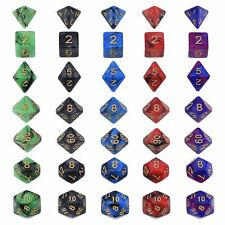 EBoot 5 Sets Polyhedral Dices for Dungeons and Dragons - 35 Piece