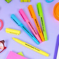 5, 10 or 20 x Papermate Liquid Accent Highlighters Marker Pen Office Stationary