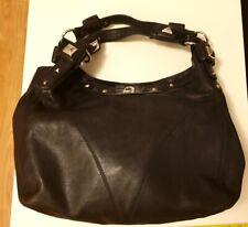 Blush B-lush Black Studded Leather Handbag