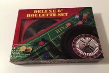 Deluxe 8-inch Roulette Table Top Set - Complete and Nice condition
