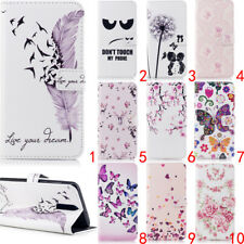 For Samsung Galaxy S9 Plus A8 S8 Wallet Leather Case Flip Stand Phone Case Cover