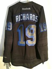 Reebok Premier NHL Jersey New York Rangers Brad Richards Black Accelerator  sz XL 62d9209c3