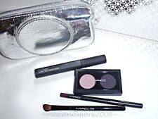 MAC Iced Delights Eye Bag/Pearl ~Eyeshadows Eyeliner Mascara Brush~Holiday Kit +