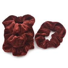 Fashion Women Elastic Accessories 4Pcs Hair Scrunchie Ponytail Holder  Hairband
