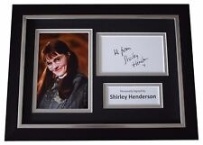 Shirley Henderson SIGNED A4 FRAMED Autograph Photo Display Harry Potter Film COA