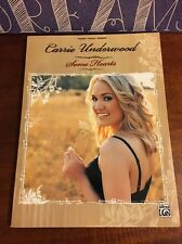 Carrie Underwood Some Hearts Piano Vocal Guitar Chords Sheet Music Book Songbook