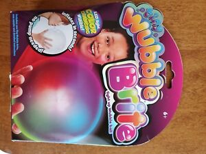 Tiny Wubble Brite ~Light Up Wubble Ball No Pump Needed! LED Light Changing