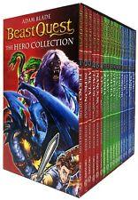 Adam Blade Beast Quest The Hero 18 Books Series 1 - 3 Collection Box Set Arcta