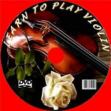 LEARN TO PLAY THE VIOLIN/FIDDLE EASY LESSONS VIDEO DVD TECHNIQUES TIPS PRACTICE