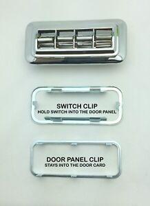 1958 - 1970 GM POWER WINDOW SWITCH WITH ROUND CORNERS PW4432791 (4 BUTTON) NEW