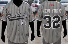 NLBM Negro League Baseball Jersey - NY Black Yankees Gray